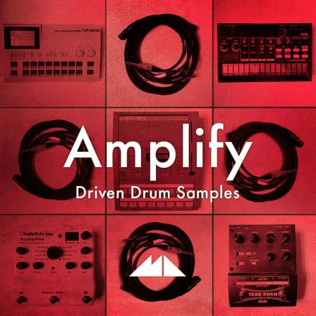 Amplify Driven Drum Samples WAV-FLARE