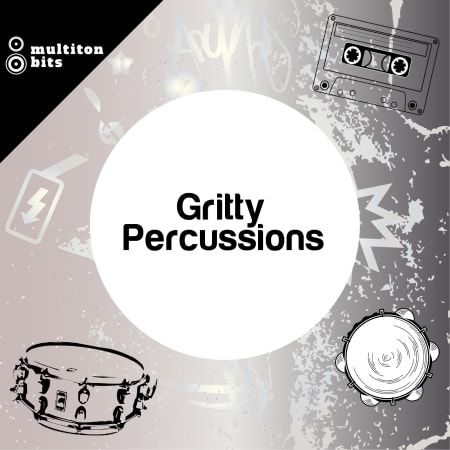 Bits Gritty Percussions WAV-FLARE