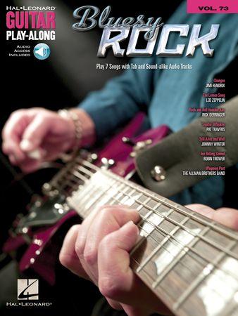 Bluesy Rock Guitar Play-Along Volume 73 PDF WMA