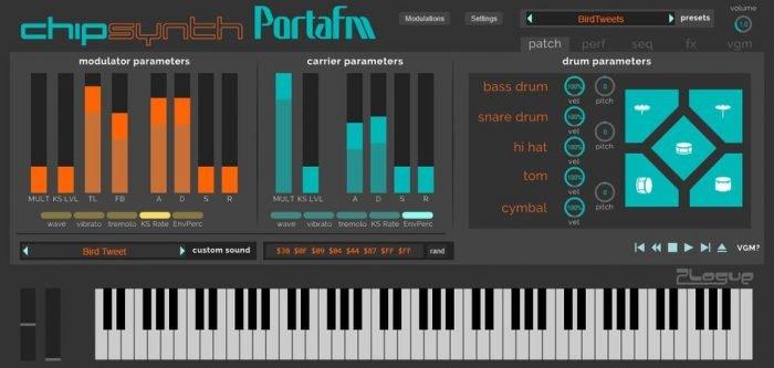 Chipsynth PortaFM v1.072-R2R