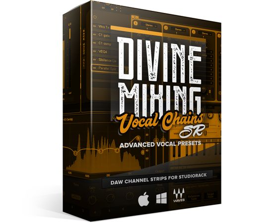 Divine Mixing Vocal Chains SR for Waves StudioRack