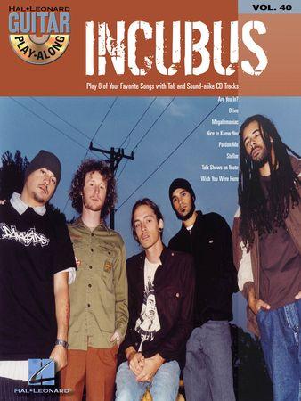 Incubus Guitar Play-Along Volume 40 PDF