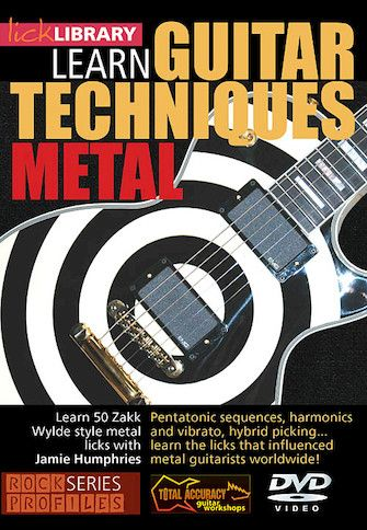 Learn Guitar Techniques Metal Zakk Wylde Style