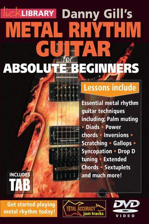 Metal Rhythm Guitar for Absolute Beginners TUTORiAL
