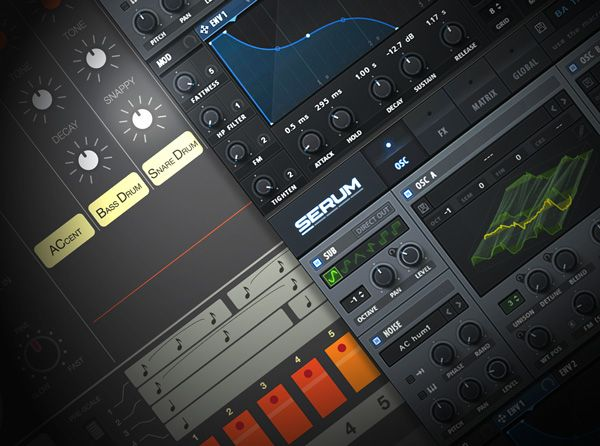 Modern Synthetic Drum Sound Design Explained TUTORiAL