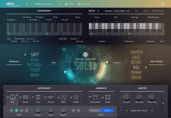 Virtual Drummer SOLID v2.0.1-R2R