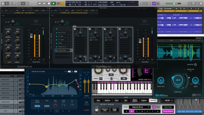 Vocal Chains SR for Waves StudioRack