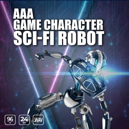 AAA Game Character Sci Fi Robot WAV-FLARE