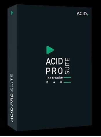 ACID Pro Suite 10.0.4.29