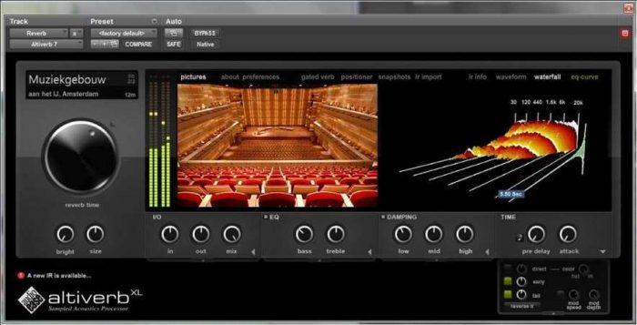 Altiverb 7 XL v7.2.8 WiN AudioUTOPiA