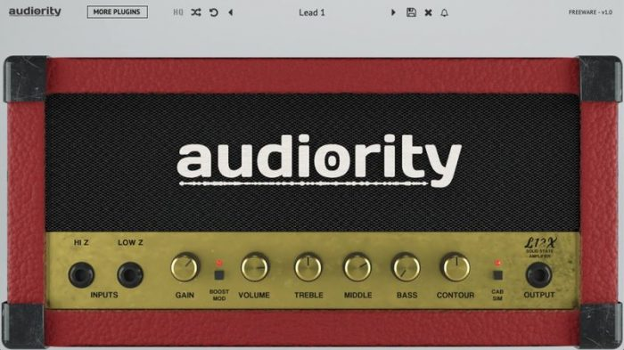 Audiority L12X Solid State Amplifier v1.1.2 WiN MAC [FREE]
