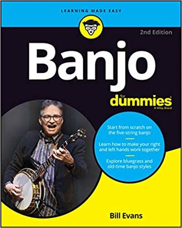 Banjo For Dummies Book 2nd Edition