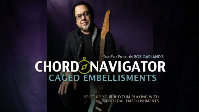 Chord Navigator CAGED Embellishments TUTORiAL