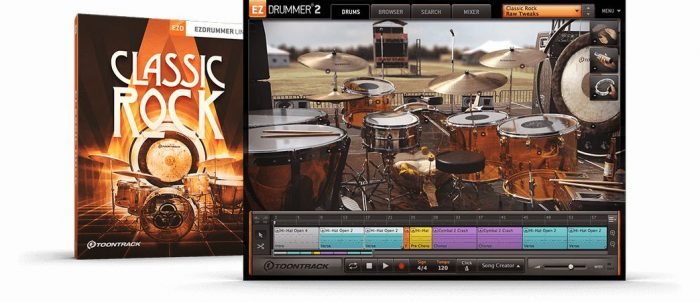 Classic Rock EZX v1.0.0 WiN OSX