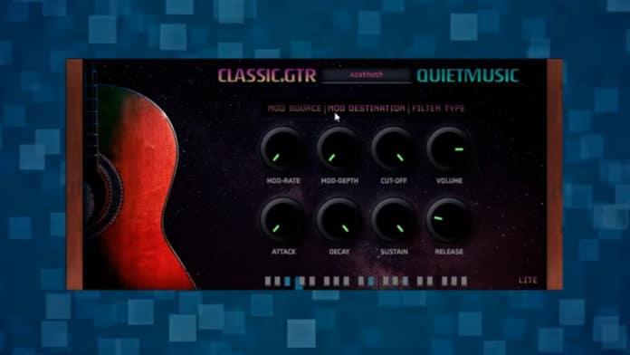 Classic.Gtr Lite Spanish Guitar Plugin VSTi AU [FREE]