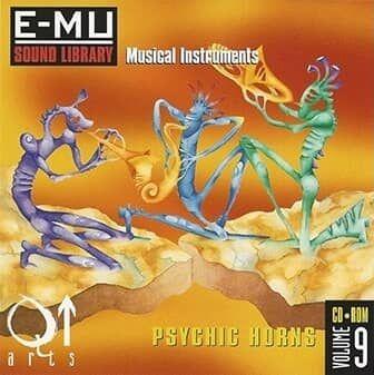 E-MU Classic Vol. 9 Psychic Horns for Emulator X3