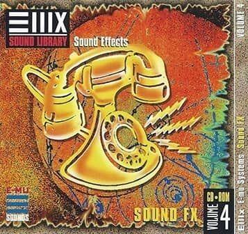 E-MU Vol 04 Sound FX for Emulator X3