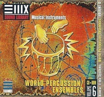 E-MU Vol 06 World Percussion Ensembles for Emulator X3