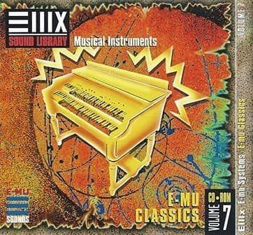 E-MU Vol 07 E-mu Classics for Emulator X3