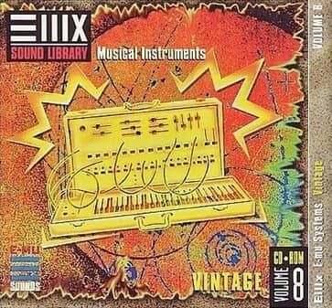 E-MU Vol 08 Vintage for Emulator X3
