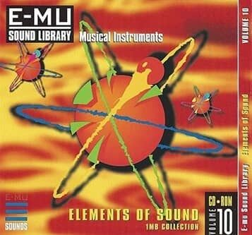 E-MU Vol 10 Elements Of Sound for Emulator X3