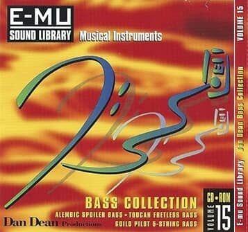E-MU Vol 15 Dan Dean Bass Collection for Emulator X3