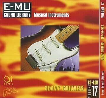E-MU Vol 17 Heavy Guitars for Emulator X3