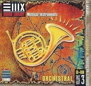 E-MU Vol. 3 Orchestral for Emulator X3