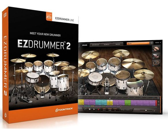 EZdrummer 2 Core Library v1.1.2 Update WIN OSX-R2R