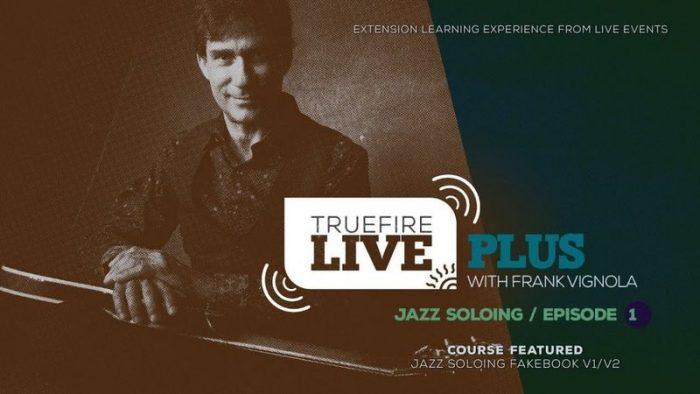 Live Plus Jazz Soloing Ep.01 TUTORiAL