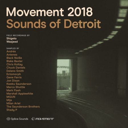 Movement 2018 Sounds of Detroit WAV-FLARE