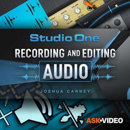 Studio One 5 103 - Recording and Editing Audio TUTORiAL