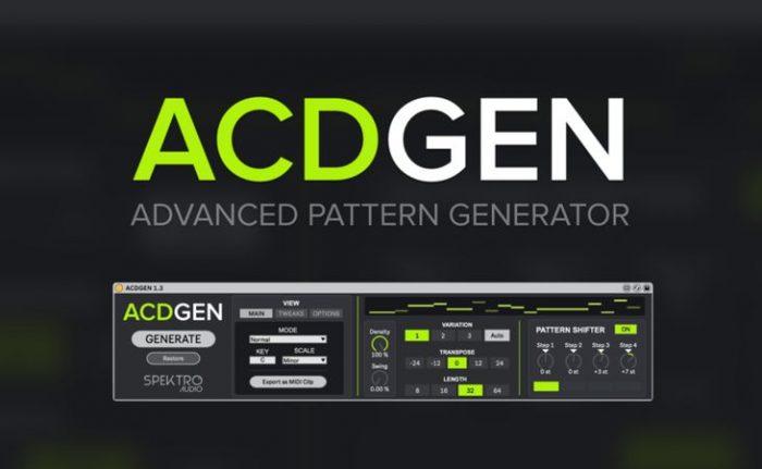 ACDGEN v1.3.1 for Max4Live AMXD
