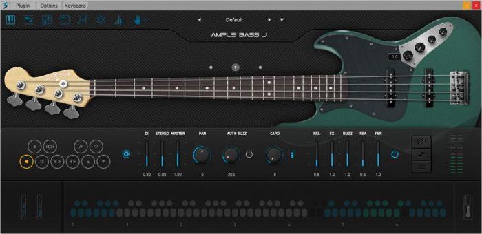 Ample Bass Jazz v3.2.0 WIN OSX