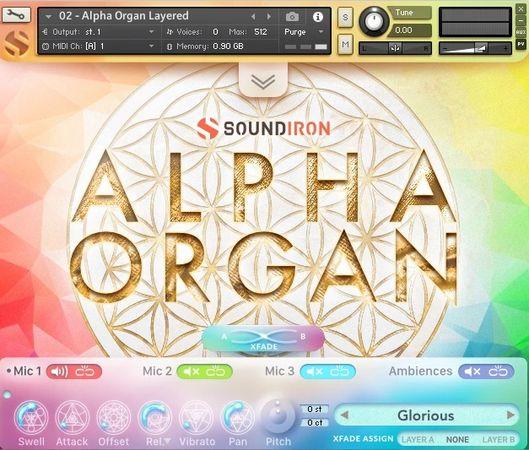 Alpha Organ KONTAKT