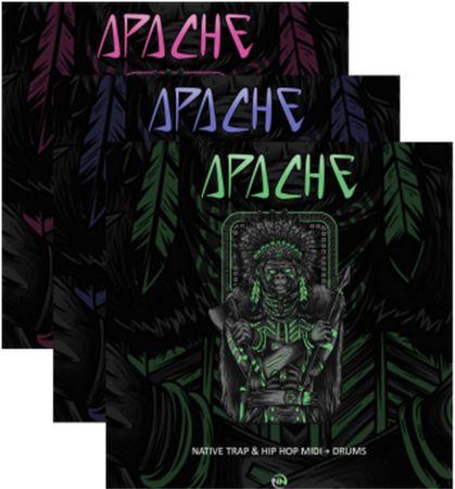 Apache Volume 1-3 WAV MiDi-DISCOVER