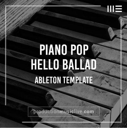 Hello Piano Ballad Ableton Template-FLARE