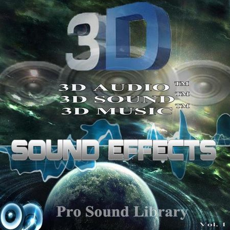 3D Sound Effects Pro Collection Vol.1-4 FLAC