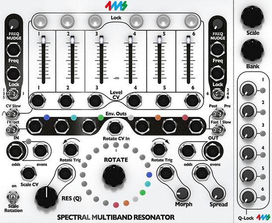 4ms Spectral Multiband Resonator v2.5.9-R2R
