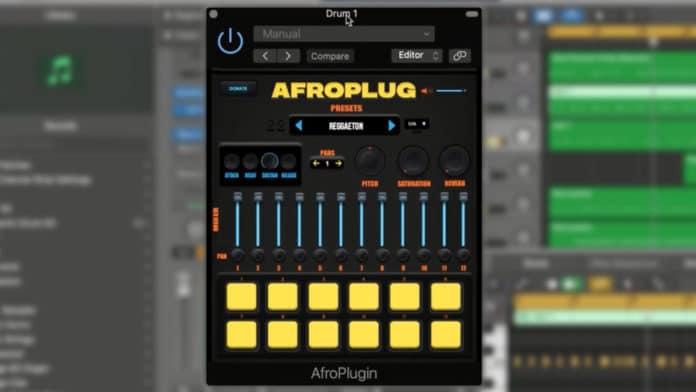 Afroplugin Drum VSTi AU WIN OSX [FREE]