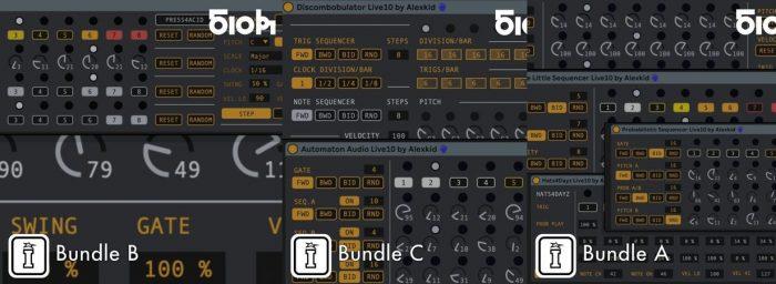 Alexkid Sequencer Bundle A B C ALP-DECiBEL