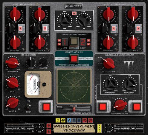 Amplified Instrument Processor v1.0-R2R