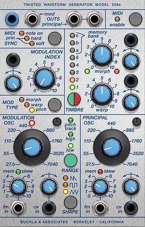 Buchla 259e Twisted Waveform Generator v2.5.9-R2R