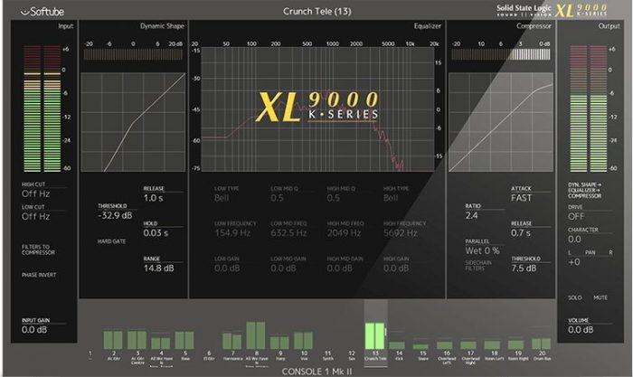 Console 1 SSL XL 9000 K-Series v2.5.9-R2R