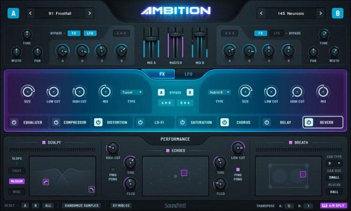 ambition v1.1 kontakt decibel