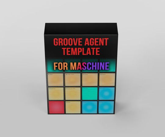 Groove Agent Template for Maschine (FREE)