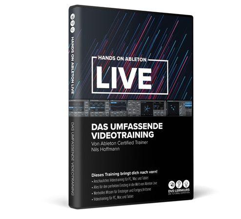 hands on ableton live 11 das umfassende videotraining
