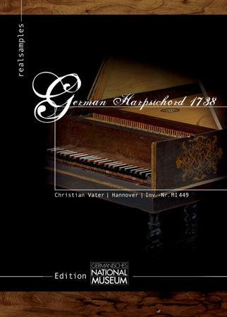 german harpsichord 1738