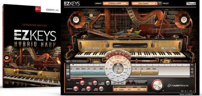 EZkeys Hybrid Harp v1.0.1 [WiN-OSX] Incl Keygen-R2R